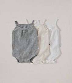 Classic Bodysuit 3-pack - Burts Bees Baby