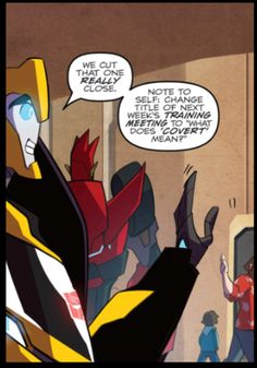 Transformers robots in disguise comic