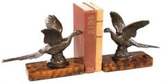 Flying Pheasant Bookends $139.99