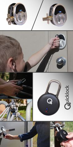 The Quicklock System - NFC and Bluetooth Locking System by RPH Engineering — Kickstarter https://www.kickstarter.com/projects/803297985/the-quicklock-system-nfc-and-bluetooth-locking-sys