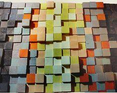 Wood Wall Art, reclaimed wood art, Wood mosaic, Wooden Art Wall Sculpture, Wood Wall Art, Wooden Art Wall Sculpture