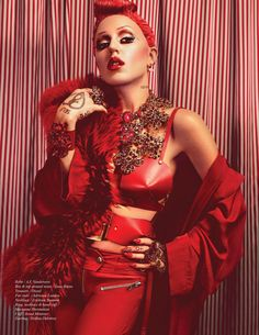Brooke Candy for Schon