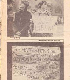"""Decembrie 1989   Îmi amintesc fotografia: apărea într-unul dintre ziarele lui decembrie '89 şi erarepublicată apoi în """"Almanahul Literar"""" d... Illinois, Chicago, Canada, America, Face, Movie Posters, Movies, Films, Film Poster"""