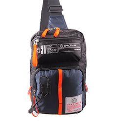 GESU Sling Bag Backpack Multipurpose Daypack Book Bag for Men  Women DARK BLUE >>> Click image for more details.