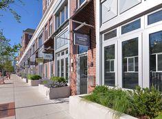 Our live/work units at AMLI Evanston, luxury Evanston apartment rentals.