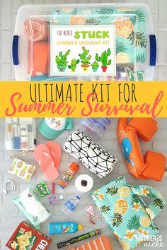 Car Survival Kits, Survival Kit Gifts, Emergency Preparedness Kit, Survival Supplies, Survival Prepping, Survival Gear, Survival Skills, Emergency Kit For Car, Survival Tattoo