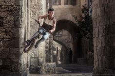 Photographing Extreme Sports on the Streets of Jerusalem | Von Wong
