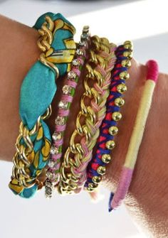 How to make 5 bracelets in 10 minutes
