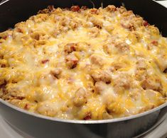 Southwest chicken and rice •10-12 chicken tenders (cut into bite sized pieces) •1 1/2 c water •1 packet taco seasoning (or 2 Tablespoons of the homemade kind) •1 can Rotel •2 c instant white rice •1 c shredded cheddar cheese. cook chicken, add water, rotel, taco seasoning. bring to a boil. add rice, cover and sit about 5min til water absorbs. stir, top w/ cheese. cover and melt cheese & serve. -optional- top w/ let, tom, sour crm.