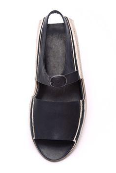 Barbora Veselá Sock Shoes, Shoe Boots, Shoes Sandals, Minimalist Bag, London College Of Fashion, Black Leather Sandals, Shoe Show, Designer Shoes, Me Too Shoes