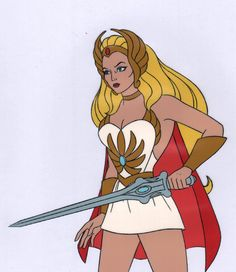 She-Ra Princess of Power Production Animation Art Cel ps by CharlesScottGallery on Etsy