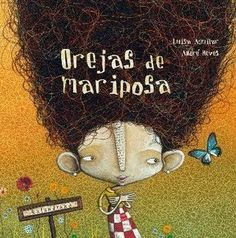 "André Neves, illustration for ""Orejas de mariposa/Butterfly Ears"". Portal Do Professor, Album Jeunesse, Elementary Spanish, Montessori Activities, Yoga For Kids, Children's Literature, Children's Book Illustration, Illustrations, Whimsical Art"