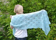 Aquamarine alpaca silk shawl, sea green shawl, lightweight shawl, handknitted shawl, wraps shawl, multi use scarf, alpaca scarf
