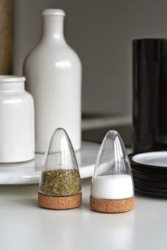 Boeien / Dutch Design / Salt and Pepper Set by Puik Art by PuikArt Cool Kitchen Gadgets, Kitchen Items, Kitchen Utensils, Cool Kitchens, Kitchen Decor, Kitchen Design, Kitchen Tools, Buy Kitchen, Style Deco