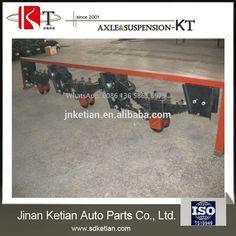 semi-trailer parts German tandem axle suspension