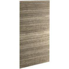 Kohler Cograph Veincut Sandbar Fibergl And Plastic Composite Shower Wall Surround Side Back Panels