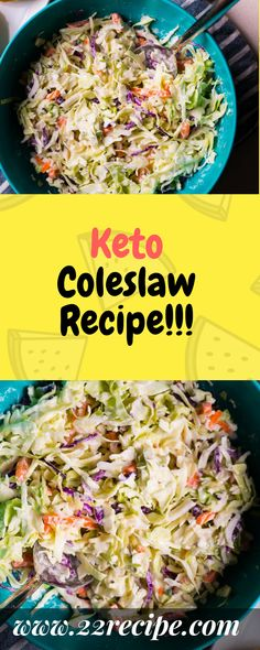 16 Amazing Keto Side Dishes (low carb & gluten free too Keto Coleslaw keto coleslaw carbs Low Carb Side Dishes, Veggie Side Dishes, Side Dish Recipes, Food Dishes, Baby Dishes, Cheese Dishes, Fish Recipes, Recipies, Keto Foods
