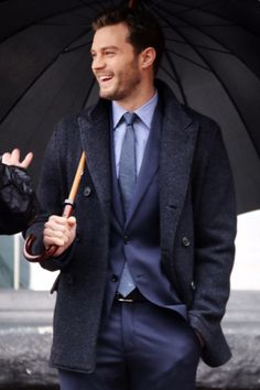 20 Sizzling Pictures of Jamie Dornan on the Set of Fifty Shades Darker