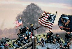 Michigan Toy Soldier Company Fine Toy Soldiers and Military Miniatures - The Battle of Chancellorsville May 1863