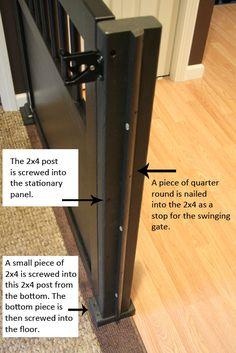 IKEA DIY dog gate
