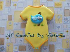 Bird Onesie Cookie