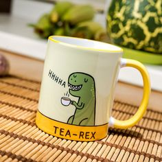 Tea Rex mug coffee cup ceramic funny T Dinosaur Jurassic Park novelty gift new