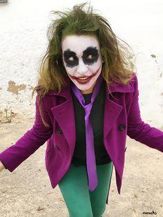 Disfraz de Joker para adulto handmade #Joker #Halloween #Halloween2017 #HalloweenMakeUp #MaquillajeHalloween #MaquillajeJoker #JokerCustome
