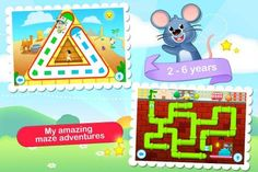 Toddler Maze 123 by GiggleUp - a set of 20 mazes for kids [ages: 2+, iPad, iPhone] Original Appysmarts score: 79/100