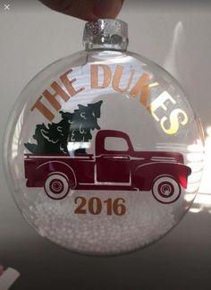 Vintage Metal Truck Desktop Weihnachtsverzierung Weihnachtsgeschenke Dekor Toy