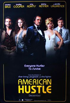 American Hustle (2013) Original One Sheet Movie Poster