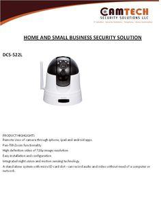 Camtech IP camera Brochure