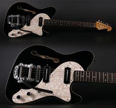 "Schwarz Custom Guitars Supercharger ""Little Charlie"""