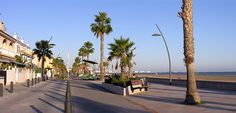 Paseo de Tamarit. Santa Pola    Cerca de Zenia Boulevard, Alicante   Spain