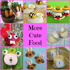 Cute Food More Cute Food....the cutest party & holiday food ideas EVER!!!!