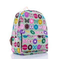 New 2016 Lovely printing backpack children women travel bags girl cartoon canvas school backpack mochila feminina canvas bolsas #Happy4Sales #backpack #bag #handbags #highschool #L09582 #shoulderbags #YLEY