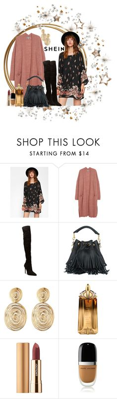 """""""Boho Star!!"""" by jckallan ❤ liked on Polyvore featuring Yves Saint Laurent, Gas Bijoux, Thierry Mugler, Axiology and Marc Jacobs"""