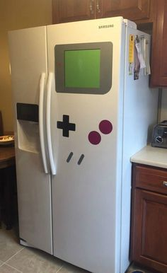 Video Game Room Ideas Nintendo Game Boy Refrigerator Magnets