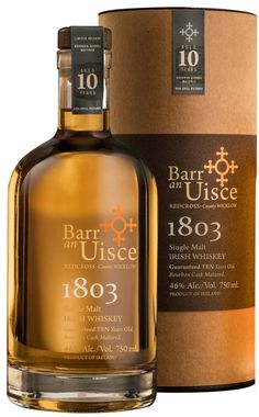 Barr an Uisce Wicklow Rare, 1803 Irish Whiskeys Niche Import Co. has announced the addition to their portfolio of two Irish whiskeys from Barr an Uisce: Wicklow Rare and Jameson Irish Whiskey, Whiskey Sour, Irish Whiskey Brands, Single Malt Irish Whiskey, Good Whiskey, Whiskey Gifts, Irish Cream, Irish Coffee, Wine Pairings