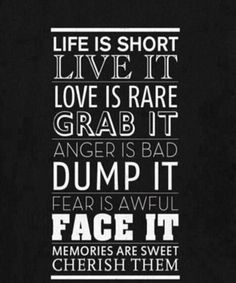 Life Is Short-Life Quotes