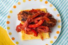 Vegan Italian Sausages and Peppers + Review of The Sexy Vegan Happy Hour at Home!