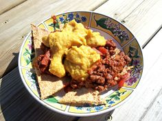 Chips, Chili, and Cheese--grain free, dairy free
