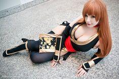 Kasumi 'Black' Dead or Alive Cosplay by K-A-N-A.deviantart.com on @deviantART