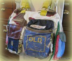 Old Cotton Cargo handtas Camden 1574 geel | ♥ Old Cotton Cargo Handgemaakte tassen | Malaika Creatives