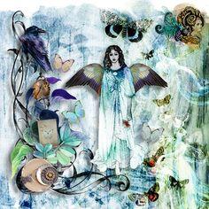 All Hope is Not Lost by Julie Mead Mead, Scrap, Lost, Painting, Painting Art, Paintings, Painted Canvas, Drawings