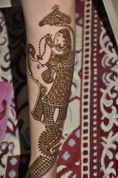arm mehendi designs, elephat design on mehendi, rath yatra design, baraat design