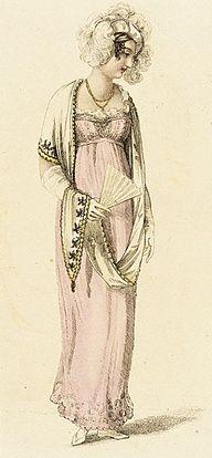 1810 gravure de mode