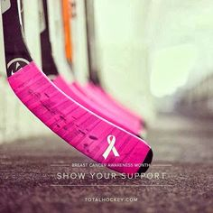 Pink the Rink Hockey Fights Cancer http://rachelle-vaughn.blogspot.com/2013/10/pink-rink.html