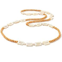 "Endless Cultured Freshwater Pearl and Mother-of-Pearl 46"" Necklace at HSN.com."