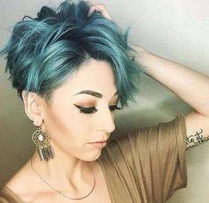 Extravagant! 11 einmalige Kurzhaarschnitte, die nicht jeder hat … - Neue Frisur