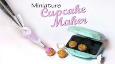 Want to support my videos on Patreon?; http://www.patreon.com/sugarcharmshop Hey guys! Today we're making a cute mini cupcake maker from polymer clay :) If y...